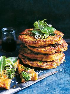 Breakfast, lunch or speedy dinner these pancakes are packed with goodness and flavour!