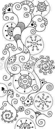 Awesome site!! SO SO SO many doodles! Love this one :) Follow the link for much inspiration for all your doodles to come.!  Elsker dette link - der er så mange mønstre og metoder og nye idéer via dette link! Følg det - der er så meget inspiration at finde! :)  Masser af feminine streger!