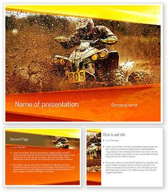 ATV Racing PowerPoint Template http://www.poweredtemplate.com/11210/0/index.html