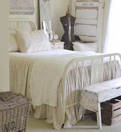Shabby Chic Decor On Pinterest Painted Cottage Country Bedrooms And