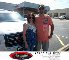 https://flic.kr/p/JaALe4 | Congratulations Martha on your #GMC #Acadia from Michael Garr at Van Griffith Kia! | deliverymaxx.com/DealerReviews.aspx?DealerCode=PXVJ