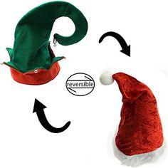 d990842d948  13.79 Christmas Hats - Holiday Theme Hats - Santa Hats - by Fun.