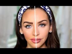 She Overdoes Her Makeup On Only HALF Her Face. Wait Til You See The Other Side.  - definitely some super helpful hints and tips here! X