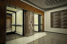 LIV HOSPITAL / ULUS / Render / ELEVATOR HALL / Zoom TPU