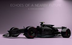 """Welcome to the age of """"why don't we have jet cars yet?"""" What will our Formula One cars look like in the near future? Fan and designer Andries van Overbeeke put together this stunning concept of what he envisions as a 2017 Red Bull car. Lamborghini Concept, Formula 1 Car, Helmet Design, First Car, Red Bull, Concept Cars, Futuristic, Race Cars, Van"""