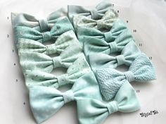 Mint mix and match bow ties or neckties. Snowy, magical, mint, winter wedding or cool and refreshing spring/summer affair; your groomsmen are dashing in their mighty mint bow ties! Tangled Ties are handcrafted in high quality fabrics, using design and construction techniques resulting in a timeless, classic look. Available in clip-on, pre-tied and self-tie styles. Sold individually. Every bow tie in this collection is available individually in sizes from infant to adult. Neckties…