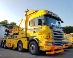 SCANIA tow wrecker truck