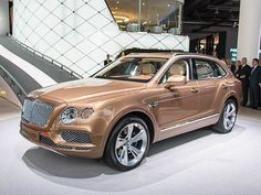 Class of 2017: New Cars Ready to Roll                                     By KBB.com Editors on April 22, 2016 11:30 AM                                                                                               2017 Bentley Bentayga