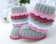 mini crochet ugg booties pattern free - Google Search