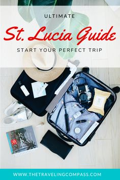 What is there to do in St. Lucia? When should you vacation? What are the best resorts? Where should you eat? Click get your downloadable copy of our Ultimate St. Lucia Vacation Guide. All Inclusive Honeymoon Resorts, Romantic Honeymoon Destinations, Best Resorts, Honeymoon Ideas, Romantic Vacations, Dream Vacations, Best Vacations For Couples, Couples Vacation, Travelling Tips