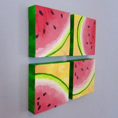 Image result for watermelon canvas