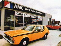 Vintage Cars, Antique Cars, Vintage Signs, Amc Gremlin, Used Car Lots, Amc Javelin, American Motors, Gremlins, American Muscle Cars