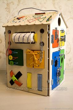 Animal Busy board Sensory board Latch board Toddler toy Busyboard Educational toy Fidget board Busy book Christmas baby toy Gift 2 year old Big Bear Busy board Activity board Montessori toys Wooden toysBig Bear Busy board to keep you kids entertained. Toddler Activity Board, Toddler Learning Activities, Learning Toys, Infant Activities, Diy Busy Board, Busy Board Baby, Baby Crafts, Crafts For Kids, Busy Boards For Toddlers