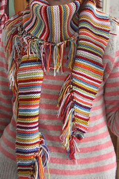 Free Pattern: Riot by Sandra Paul for the sky project