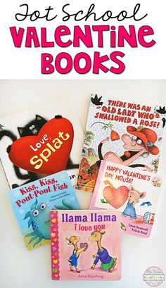 5 Valentine Themed Books That Are Perfect For Tot School, Preschool, Or The  Kindergarten