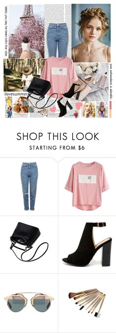 """Wherever you go, go with all your heart"" by anni000 ❤ liked on Polyvore featuring Celestine, Topshop, Bamboo and Whiteley"