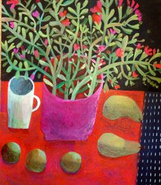 Pink planter. Limited edition print (100). 50x60cm £95 including international shipping. Email este@estemacleod.com