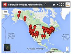 Sanctuary Policies Across the U.S. Report and Interactive Map