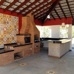 10 Traditional outdoor kitchens you cannot resist - Modern Survival Living My Home, Outdoor Kitchen Design, Outdoor Cooking Area, Outdoor Kitchen, Traditional House, My House, Outdoor Living, Vacation Home, Home Deco