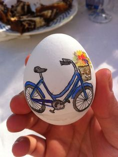 bicycle Easter egg