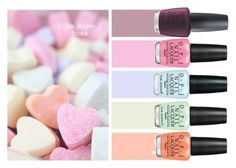 """All You Need Is Love..."" by pink1princess ❤ liked on Polyvore featuring beauty and OPI"