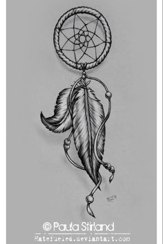 In LOVE with dream catcher tattoos <3