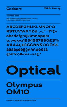 A geometric typeface influenced by Bauhaus and the early modernist era by The Northern Block. Sans Serif Typeface, Free Weights, Typography, Lettering, Bauhaus, Alphabet, Behance, Ideas, Letterpress
