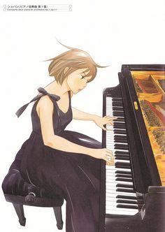 Tomoko Ninomiya, Nodame Cantabile, Nodame Cantabile Illustrations, Megumi Noda Manga Anime, Piano Girl, D Gray Man, Cute Stories, Fanart, Anime Music, Drawing Skills, Cute Illustration, Shoujo