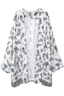 Kimono | Floral And Black Kimono Cardigan For Women Fashion Style Online | ZAFUL