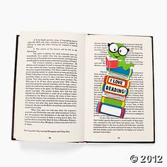 "12 ""I Love Reading"" Bookmarks Craft Kit"