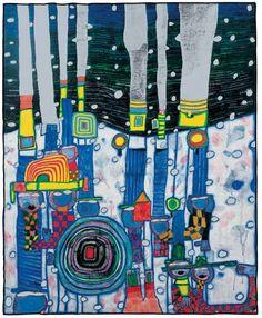 Mine d'Art: HOMMAGE À UN ARTISTE : HUNDERTWASSER Good.