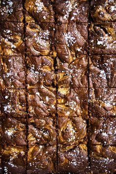 Salted Milk Caramel Fudge Brownies – Cupcakes & Curries