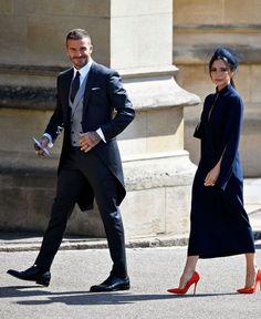 Victoria Beckham and David Beckham- ellemag