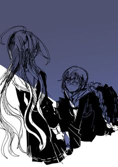Touko and Genocider Syo