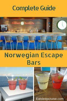 Complete Guide to Norwegian Escape Bars