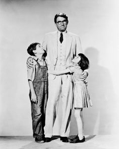 "Gregory Peck - loved him in this movie ""To Kill a Mockingbird"""