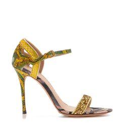 Jean Michel Cazabat Yellow Green sandal Spring summer  2013