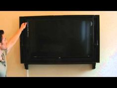 Easily disguise any 40 to 42 inch LCD or LED TV. This mount completely hides your TV behind a picture frame. When you want to watch TV simply flip it around .