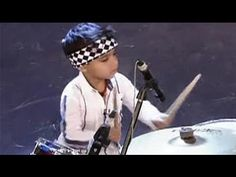 3-year-old drums like a pro - YouTube