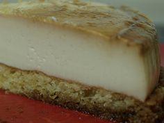 Tarta de flan de queso y sobao pasiego