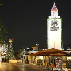 Navidad en el Farmers Market / Christmas at the Farmers Market