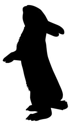silhouette lapin - Recherche Google
