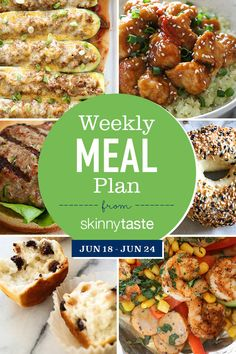 A free 7-day flexible meal plan including breakfast, lunch and dinner and a shopping list. All recipes include calories and Weight Watchers Freestyle Smart