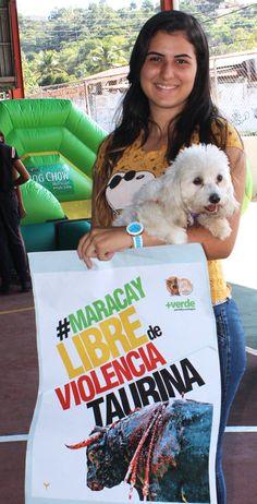 ¡L@s aragüeñ@s se pronuncian contra la barbarie! #MaracayLibreDeViolenciaTaurina #CorridasDeToros #MaltratoAnimal #DerechosAnimales #Vida #Activismo #Venezuela #Aragua #Toros   http://noticias.masverdedigital.com/  https://www.facebook.com/masverde.periodicoecologico/ https://www.facebook.com/GritoAnimalmcy/