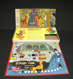 Scooby-Doo Where are you board game. Did anyone else have this when you were a kid too?