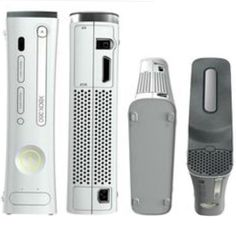 Xbox 360 Pro White Includes Cable Hookups and 20GB Hard Drive 882224380812 | eBay