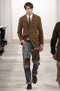 Ralph Lauren #patchwork