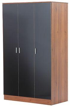 Viz Ori Black Gloss Tall Bedroom Chest Of 5 Drawers UK Made