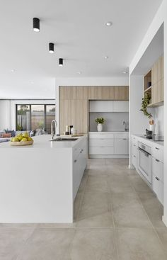 Kitchen design elegant contemporary kitchen design ideas 00027 ~ Gorgeous House Bed rugs and bey Kitchen Room Design, Design Room, Home Decor Kitchen, Interior Design Kitchen, Modern Interior Design, Home Kitchens, House Design, Kitchen Ideas, Kitchen Designs