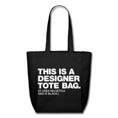designer tote bag1 pic on Design You Trust